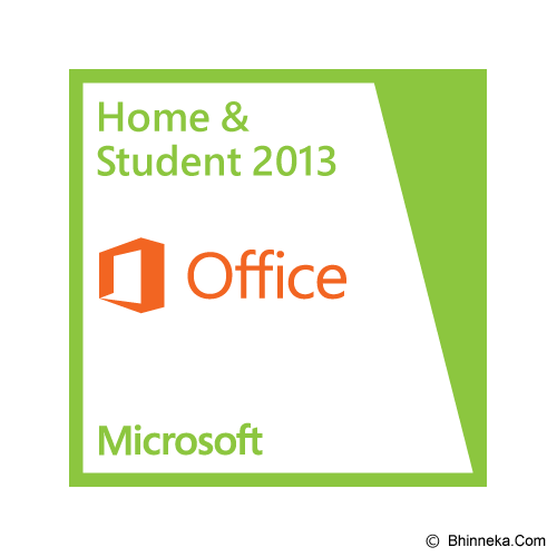 MICROSOFT Office Home and Student 2013 [79G-03570] - Client Software Office Application Fpp